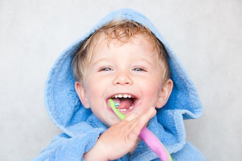 Smiling child brushing teeth | Dentist Pascoe Vale VIC
