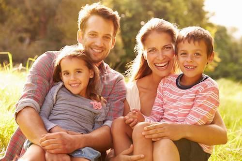 smiling family | Dentist pascoe vale vic