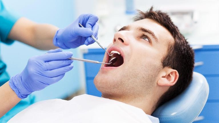 man at the dentist | pascoe vale vic