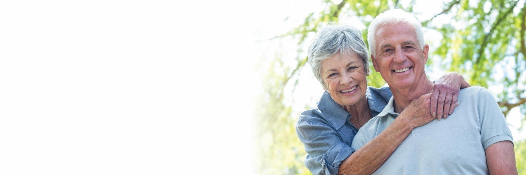 older couple smiling | Pascoe Vale Dental Implants