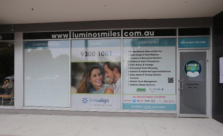the front of our pascoe vale office